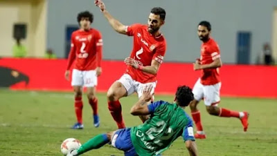 الاهلي يتعادل مع مصر المقاصة فى الدورى المصري
