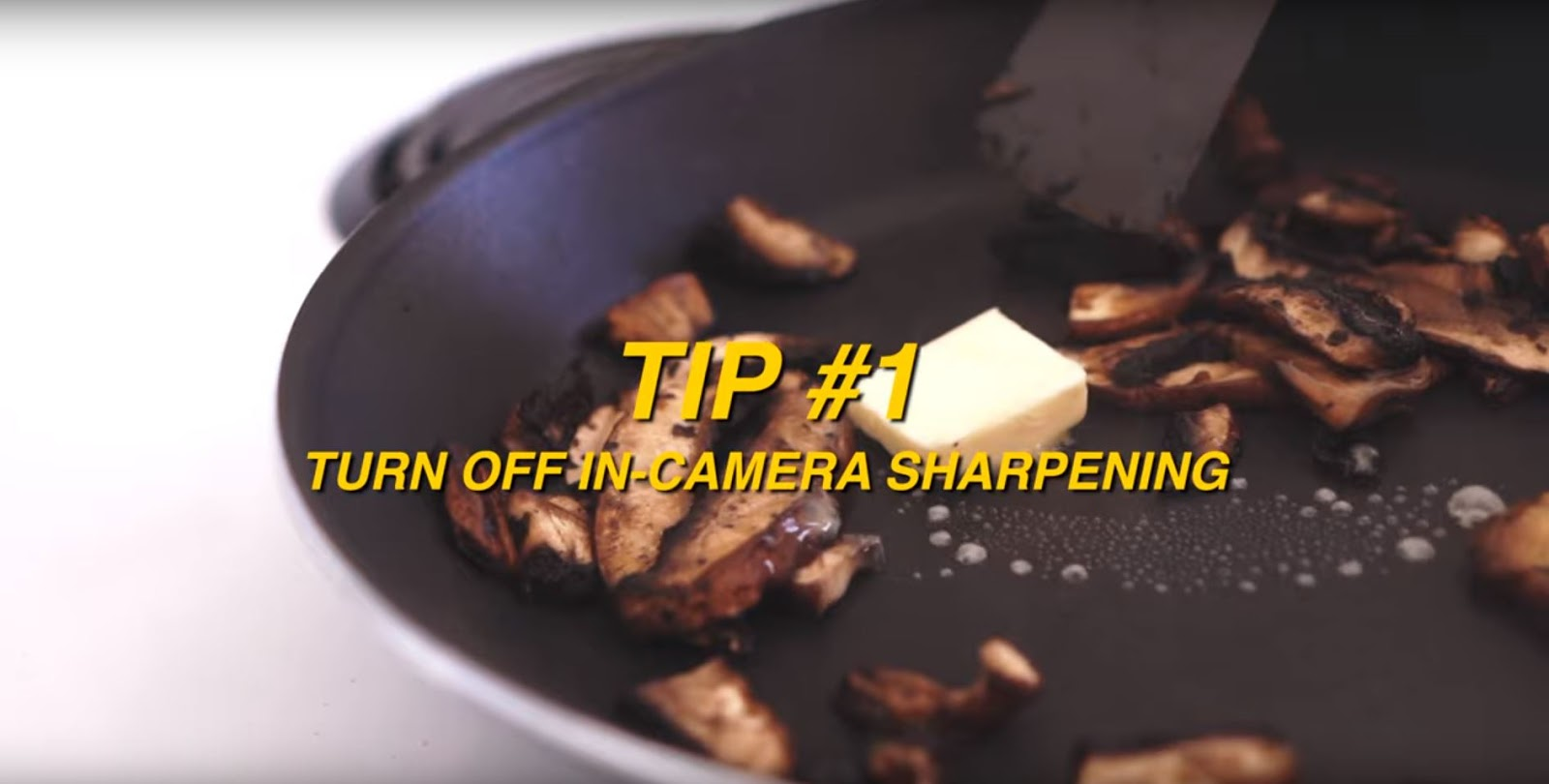 7 Tricks for SHARP & CRISP Videos!
