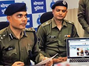 भोपाल  पुलिस  ने किया देह व्यापर का पर्दा फाश,हिंदी अख़बार के मालिक प्यारे मियां  की तलाश