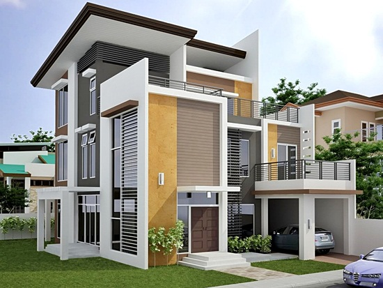desain rumah minimalis 2 lantai terbaik