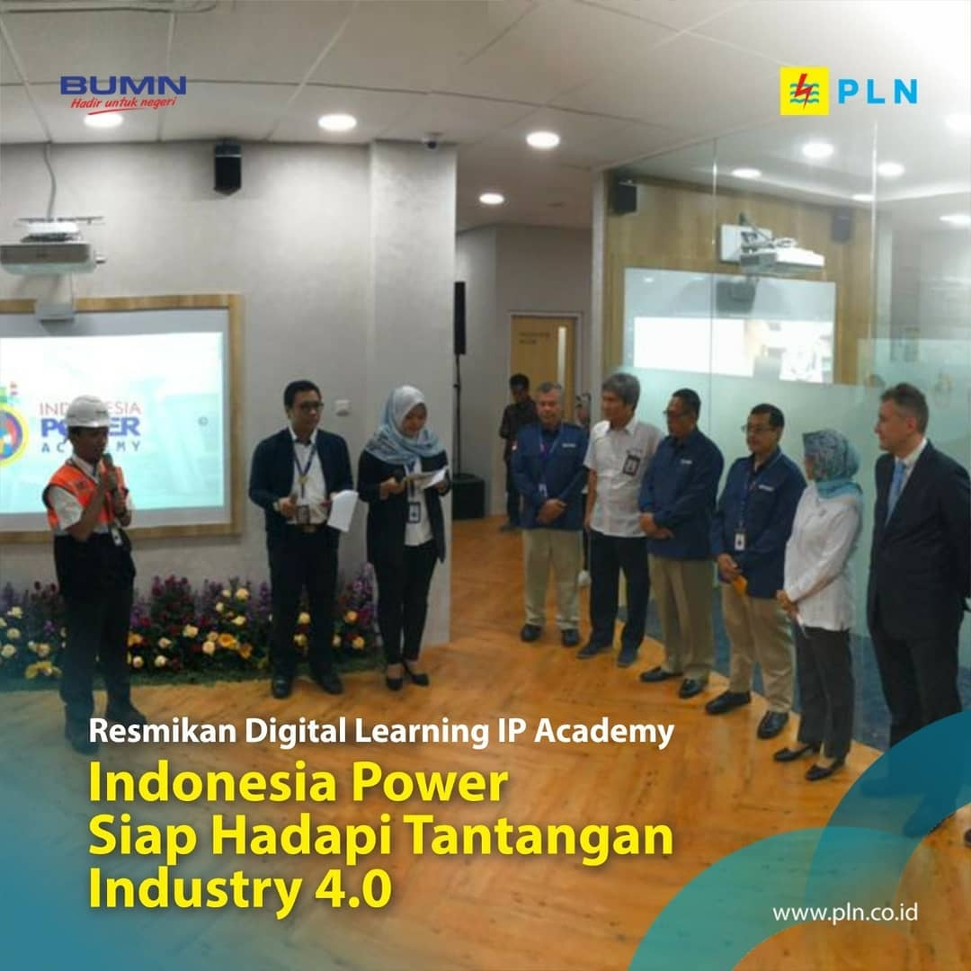 Indonesia Power meresmikan IP Academy berbasis digital
