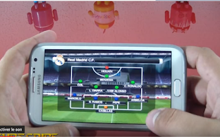تحميل لعبة Pes 2012 للهواتف الاندرويد الضعيفة تشتغل صاروخية بحجم صغير جدا