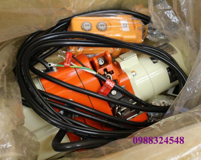 Rùa điện xích Kito EDX10ST 100kg