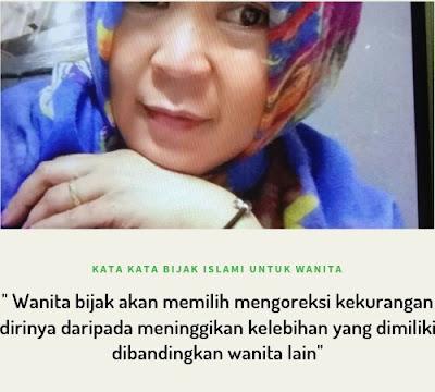 Kata-kata bijak islami untuk wanita