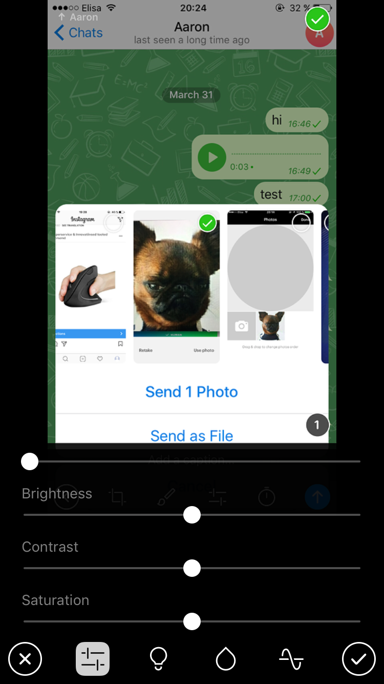 telegram самоудаляющиеся секретные сообщения