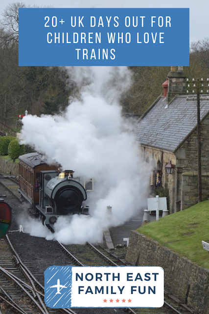 20+ UK Days Out for Children who Love Trains