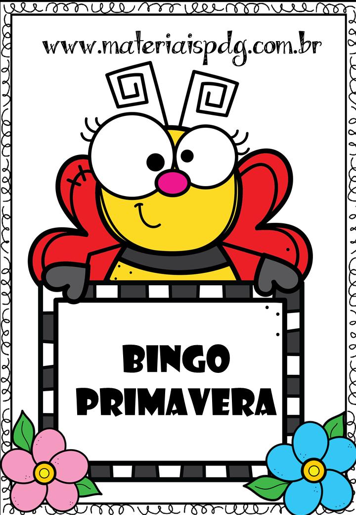 BINGO PRIMAVERA - DOWNLOAD PDF