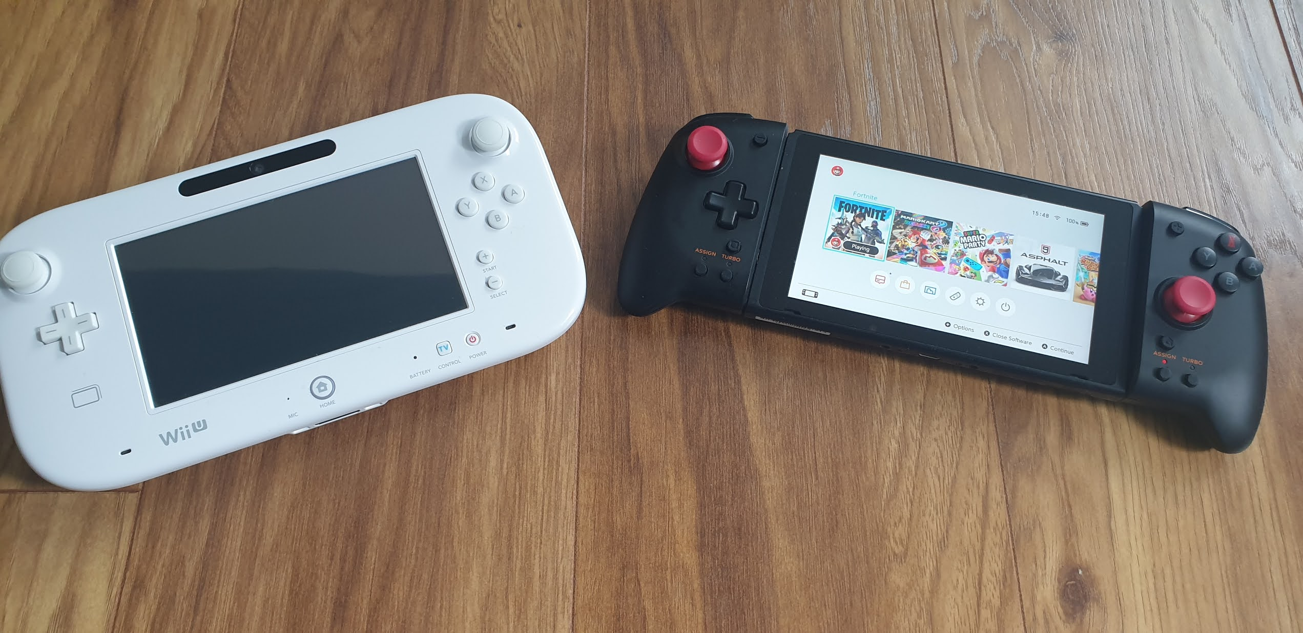 wii u and switch