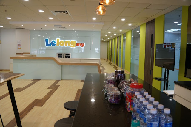 Entrance of Lelong.my eCommerce Education Center