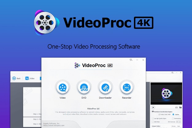 [Προσφορά]: Κάντε δικό σας το VideoProc ένα πρόγραμμα επεξεργασίας βίντεο ανάλυσης έως 4Κ