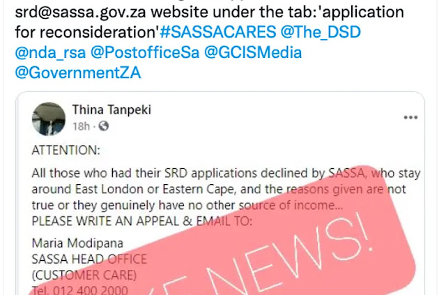 applicants warned of fake news