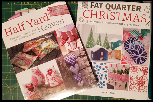 Craft books for fat quarters and half yards