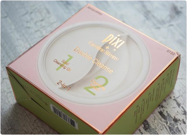 Pixi + Caroline Hirons Double Cleanse. Очищающие бальзам и крем 2/1