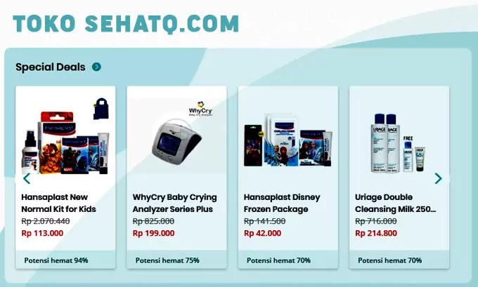 Inilah Fitur dan Layanan Kesehatan Online SehatQ.com