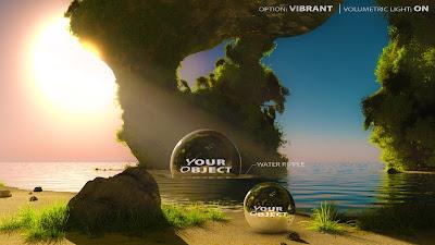 Epic Skydomes - Mystical Island Cave 16K HDRI