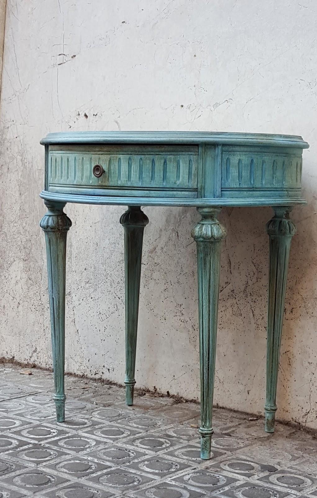Candini muebles pintados nuevos y redecorados cambia - Restauracion de muebles barcelona ...