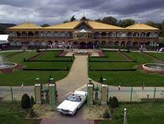 The maharishi's global headquarters in Vlodrop, Netherlands.