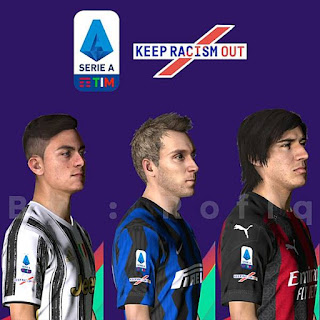 New Sleeves Badge Serie A 2020/21 PES 2017