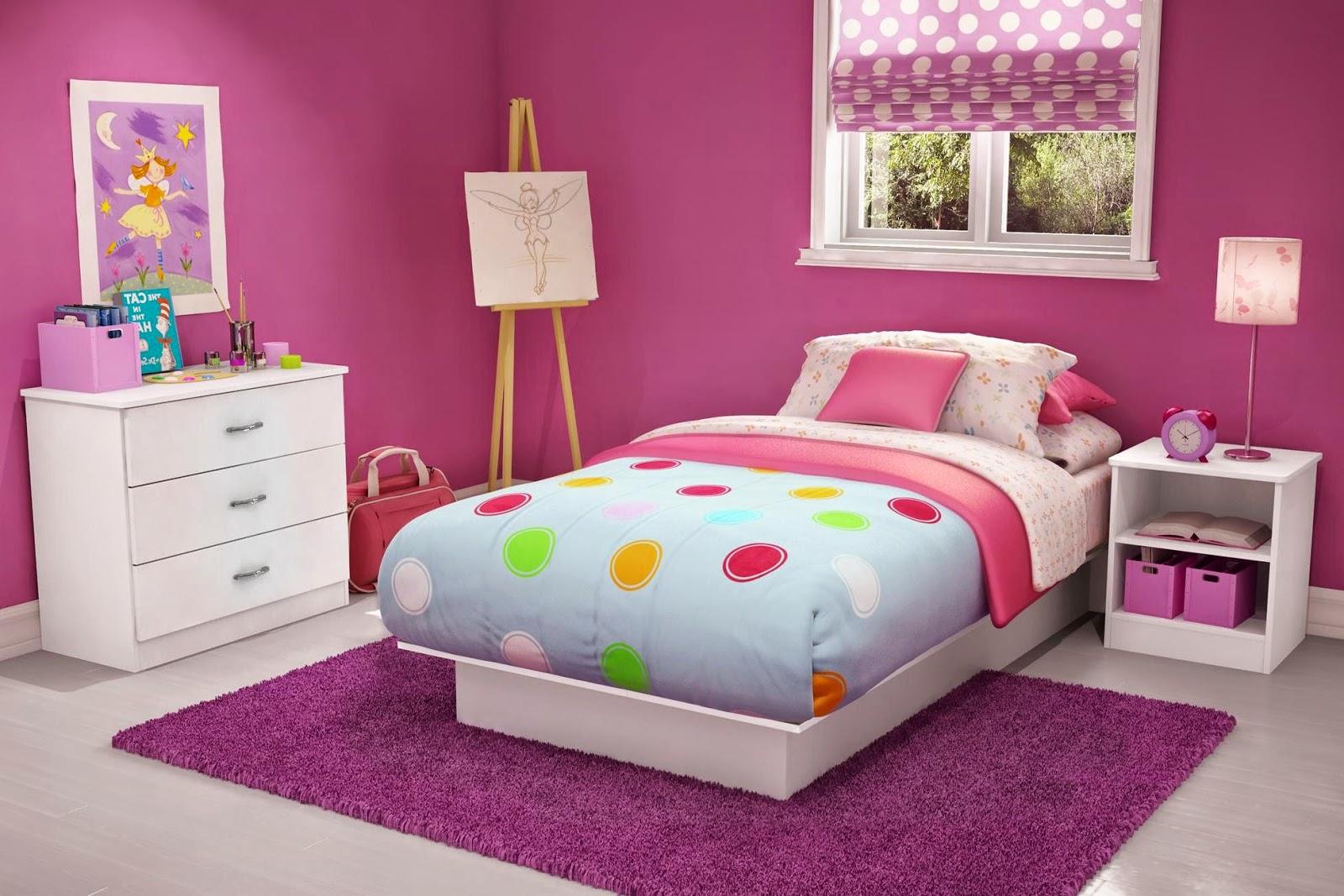 31+ Desain Kamar Tidur Sederhana Dan Murah Warna Pink Gif ...