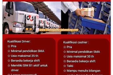 Lowongan Kerja Bandung Karyawan Driver & Cashier G4S