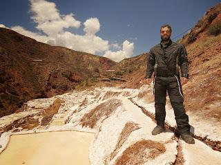 Salineras de Maras / Peru vista por outro ângulo.