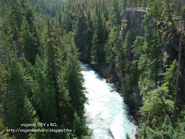Bunga Bridge, Brandywine Falls. Viajando ODV y RCL  http://viajandoodvyrcl.blogspot.mx