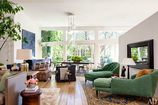 Patrick Dempsey's Home in Architectural Digest