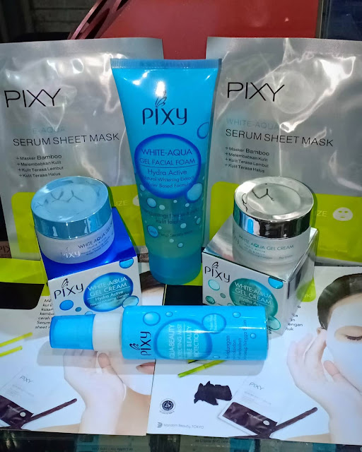 Pixy White Aqua Gel Night Cream untuk usia 20an