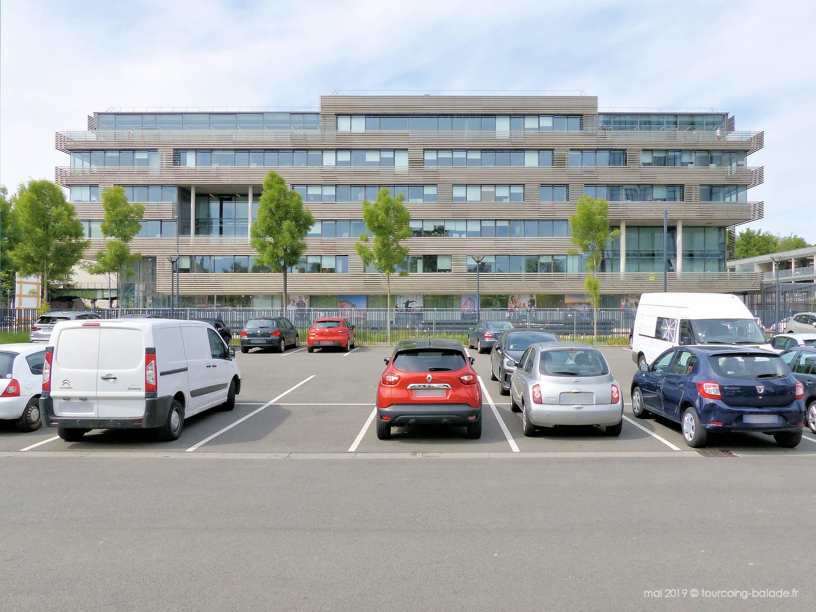 LHM Lille Métropole Habitat, Tourcoing.