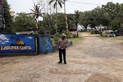 Personel Polres Pandeglang Sambangi Wisatawan di objek Wisata Untuk Imbau Prokes