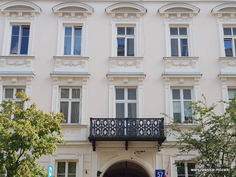 Warszawa Warsaw kamienica architektura architecture zabytek warszawskie kamienice balkon