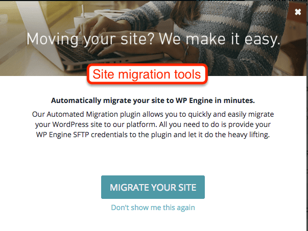 Site Migration WP Engine