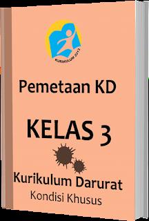 Pemetaan KD Kurikulum Darurat pada Kondisi Khusus Kelas 3 SD/ MI, www.gurnulis.id