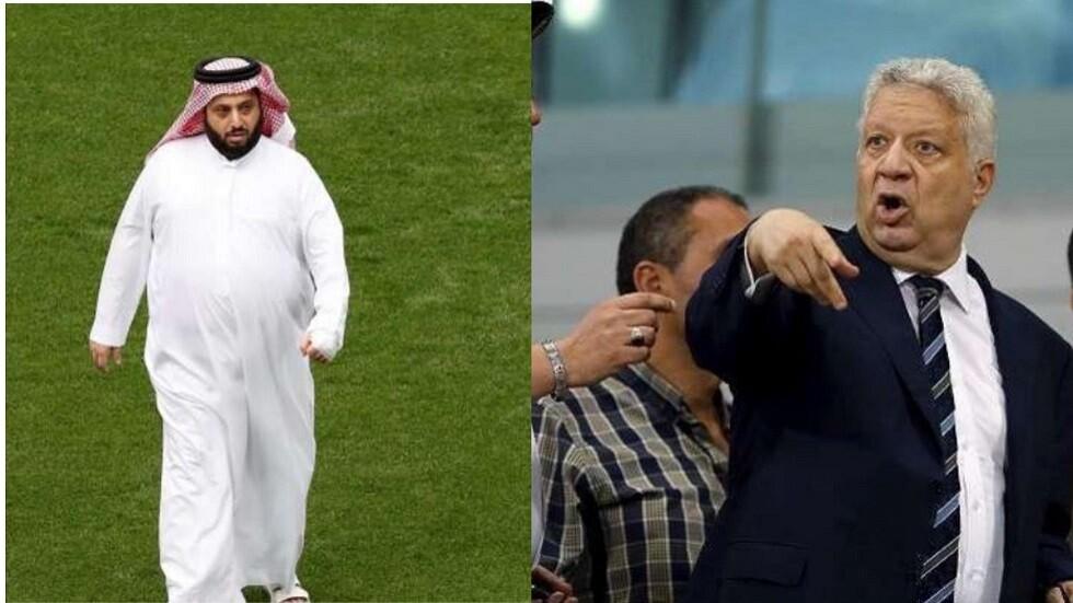 :آل الشيخ يعلن تضامنه مع رئيس الأهلي المصري