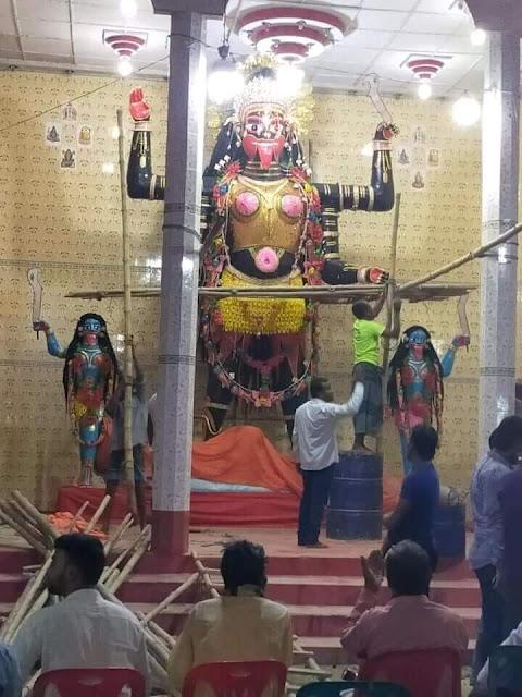 নাটোর লালপুরে এবার মেলা হচ্ছেনা ঐতিহ্যবাহী কালীপূজায়