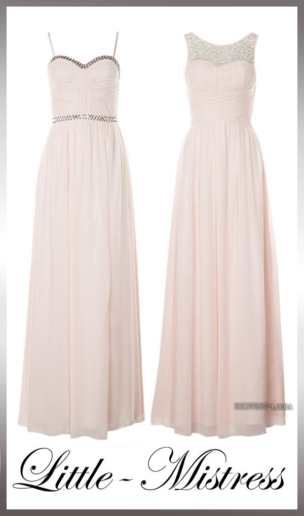 Robe de bal LITTLE MISTRESS rose pâle