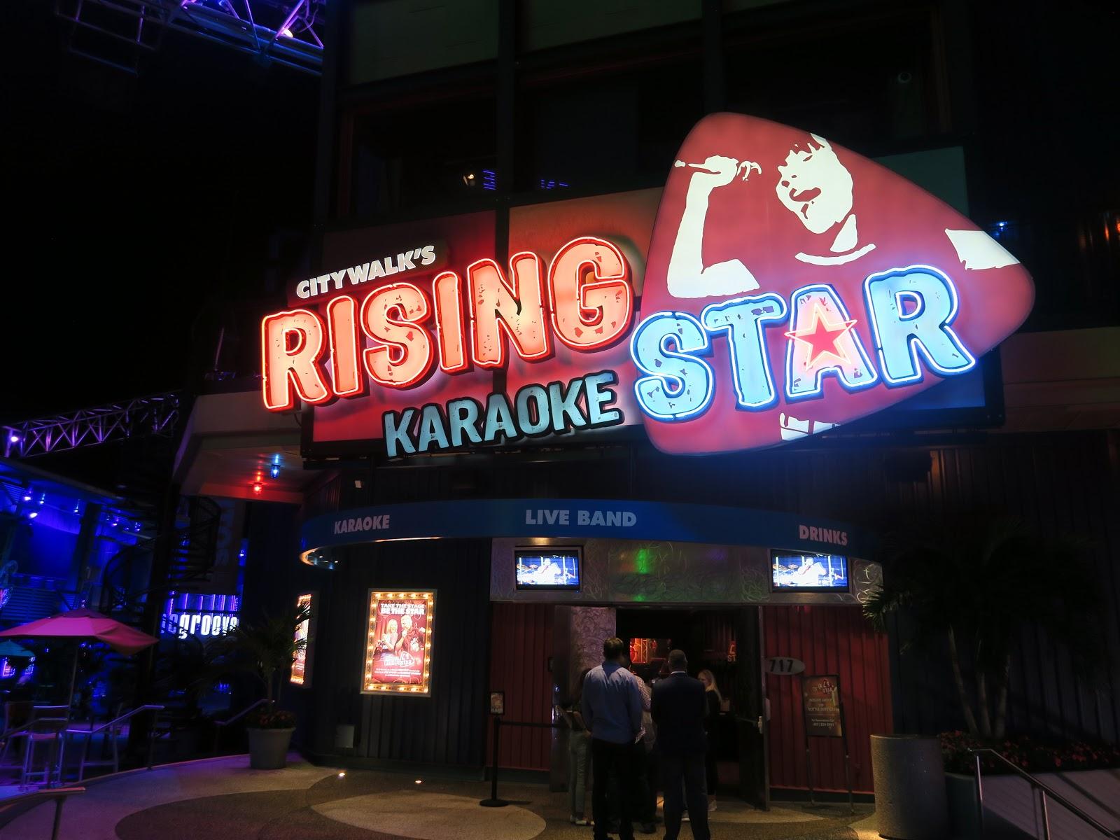 Universal Citywalk Rising Star
