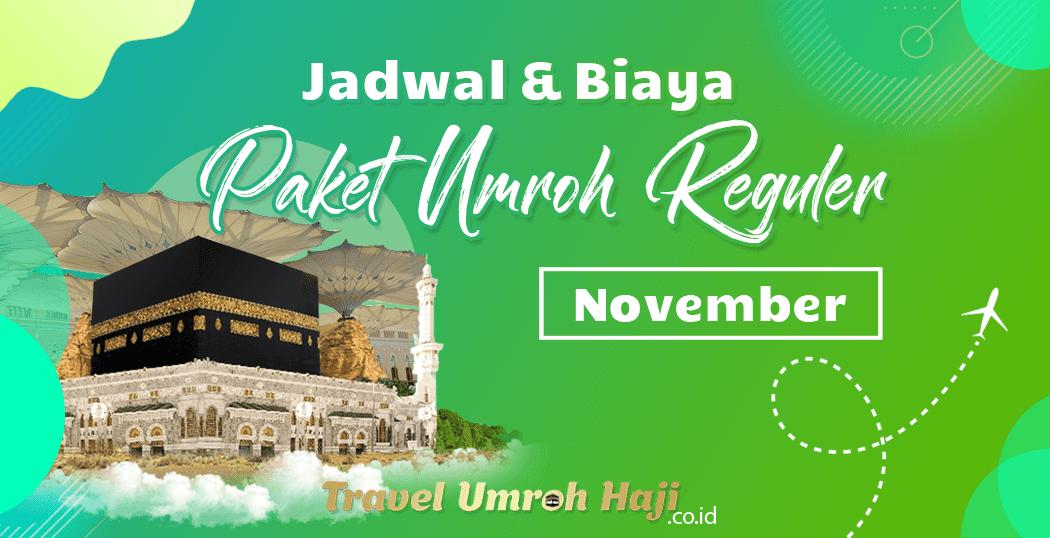 Promo Paket Umroh Biaya Murah Jadwal Bulan November 2020