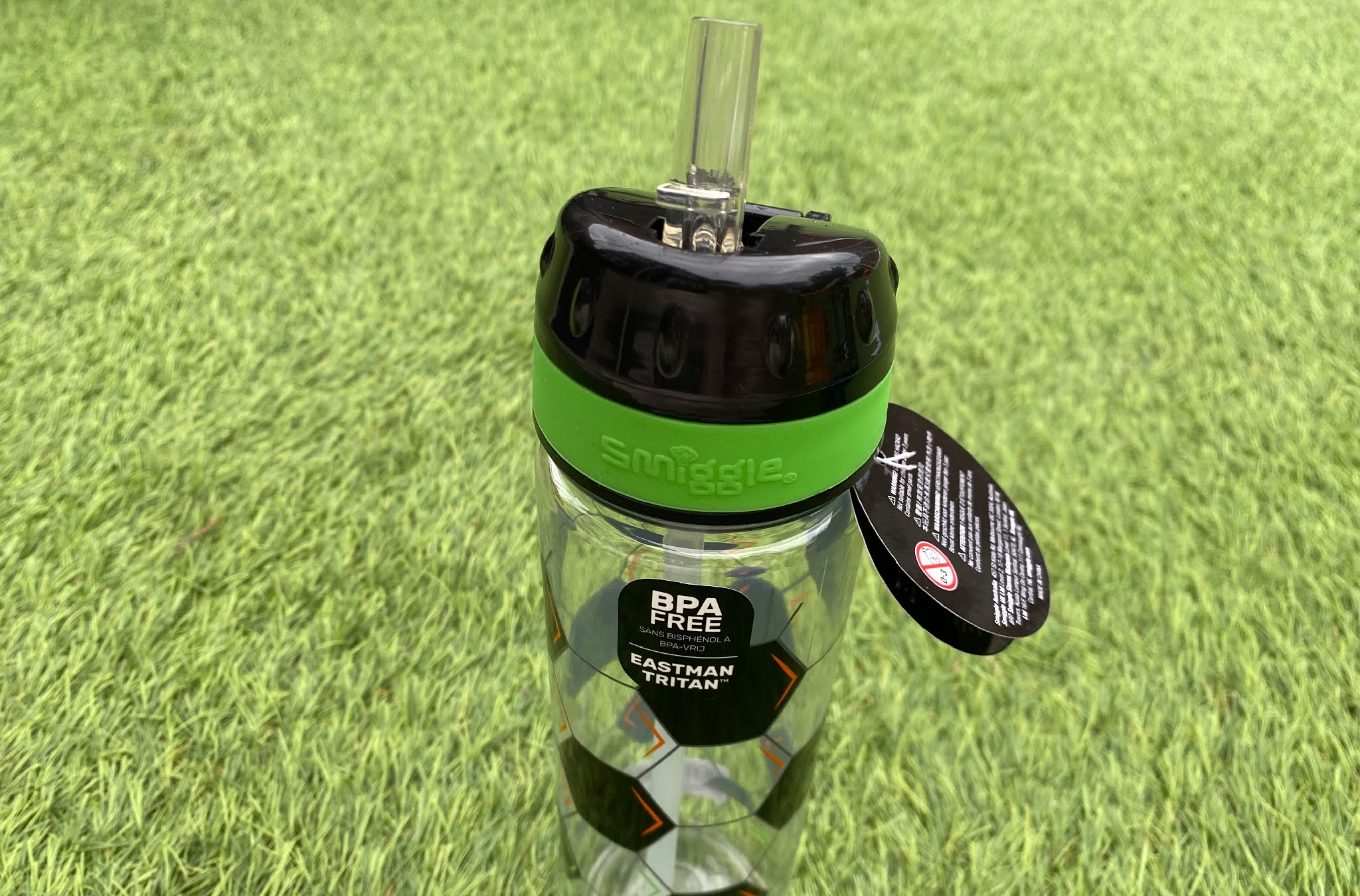 Smiggle Kick water bottle