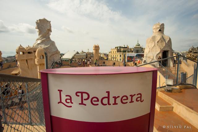 Travel to Barcelona: O expediție în capitala Catalunyei. Silviu Pal Blog. #TravelBlogger Casa Mila La Pedrera