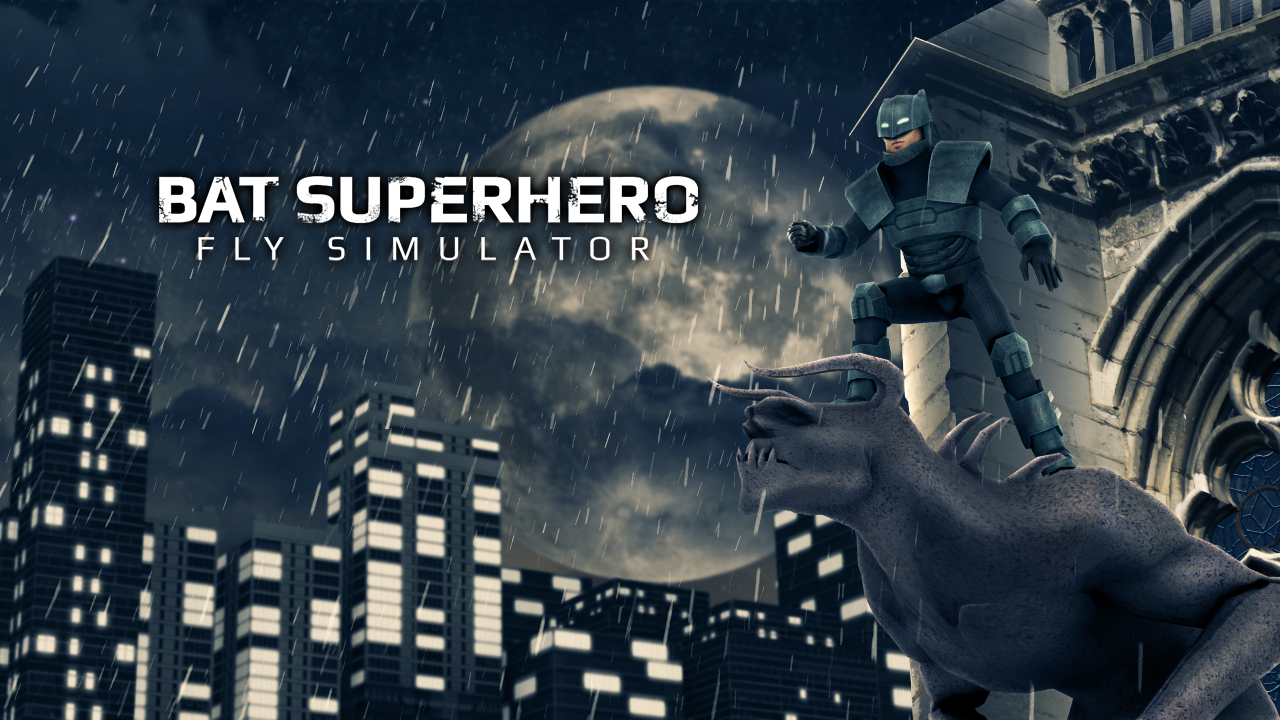 Bat Superhero Battle Simulator MOD APK