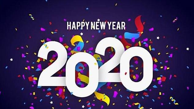 Ucapan selamat hari Natal dan Tahun baru 2020