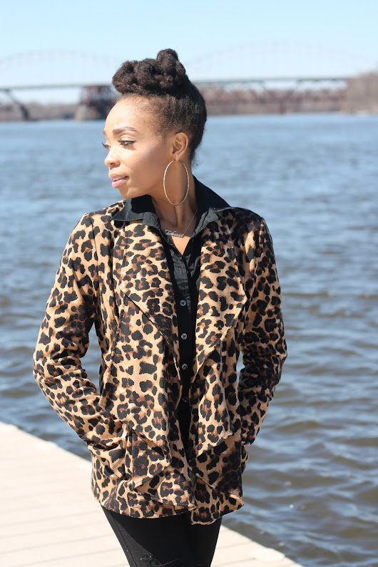 Simply Tasheena: My Mommy Style Monday: A Touch of Animal Print