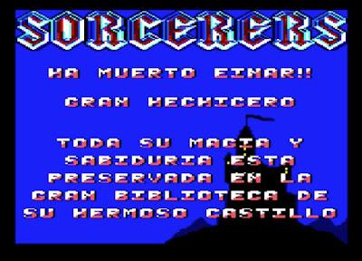 Sorcerers. Amstrad CPC
