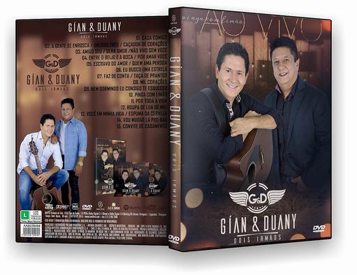 DVD – Gian e Duany Dois Irmaos Ao Vivo – ISO