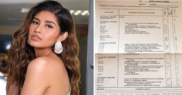Shamcey Supsup admits being 'grade conscious'