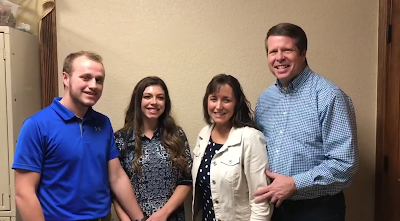 Jim Bob and Michelle Duggar, Josiah Duggar, Lauren Swanson
