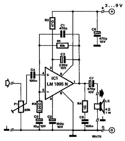 Electronics Circuit Diagram and Electronics Circuit