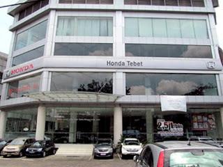 HONDA TEBET / HONDA SOEPOMO / HONDA PANCORAN