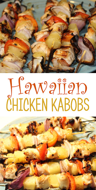 Hawaiian Chicken Kabobs | Recipes | Grilled | Dinner
